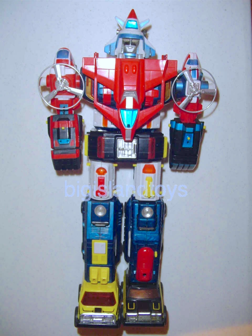 Voltron Matchbox Robots   Voltron I (Warrior) Merged