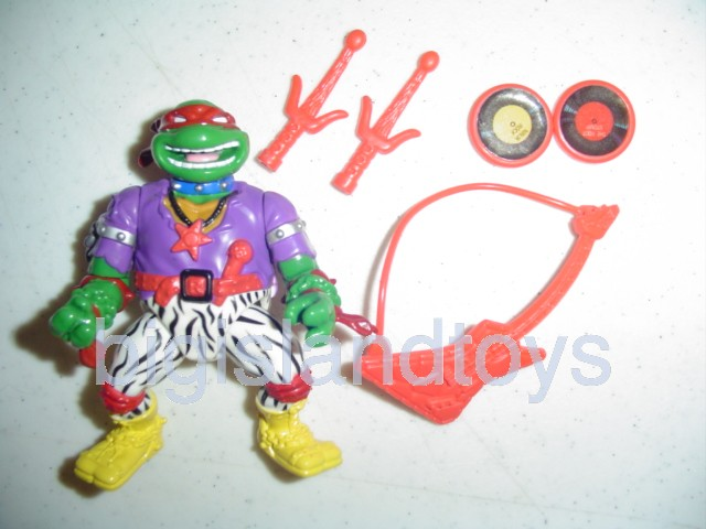 Teenage Mutant Ninja Turtles 1991 Figures     Heavy Metal Raph