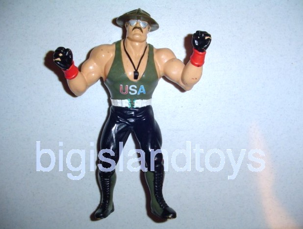 Wrestling Superstars Titan Sports Other  SERGEANT SGT SLAUGHTER Mail Away GI Joe