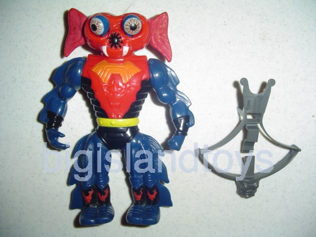 Masters of the Universe Series 4 1985   Mantenna Red Lever