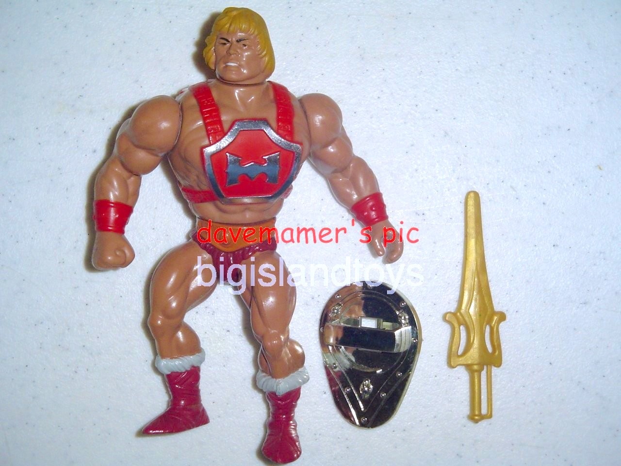 Masters of the Universe Series 4 1985   Thunder Punch He-Man
