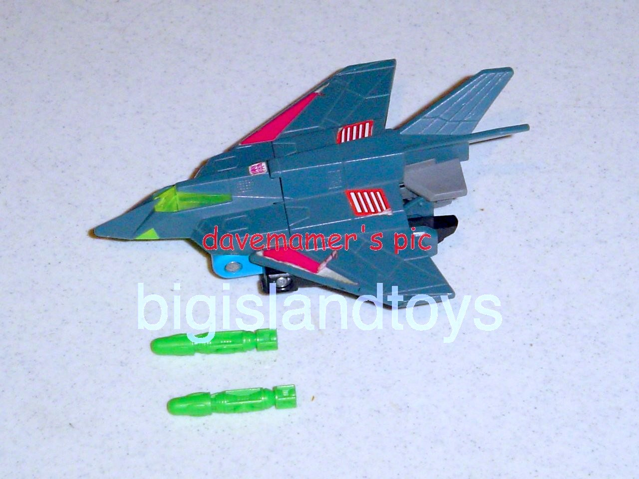 Transformers Generation One G1 1992 UK  Falcon