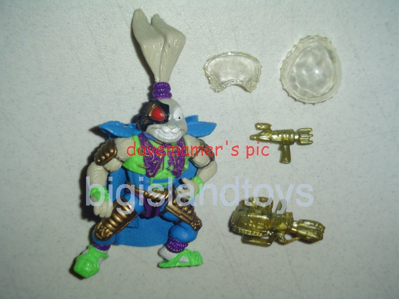 Teenage Mutant Ninja Turtles 1991 Figures   Space Usagi