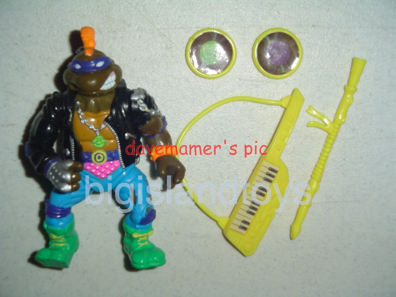Teenage Mutant Ninja Turtles 1991 Figures   Punker Don