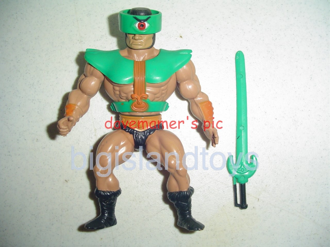 Masters of the Universe Series 2 1983   Tri-Klops