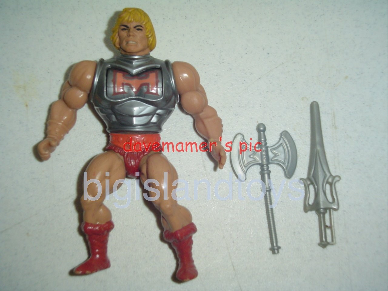 Masters of the Universe Series 3 1984   Battle Armor He-Man