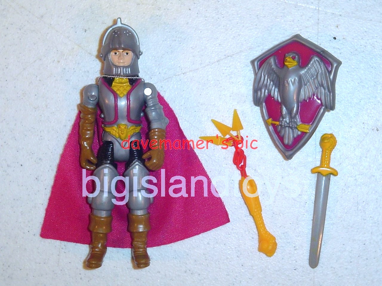 Advanced Dungeons & Dragons LJN Good Figures   Battle Matic Deeth Good Fighter