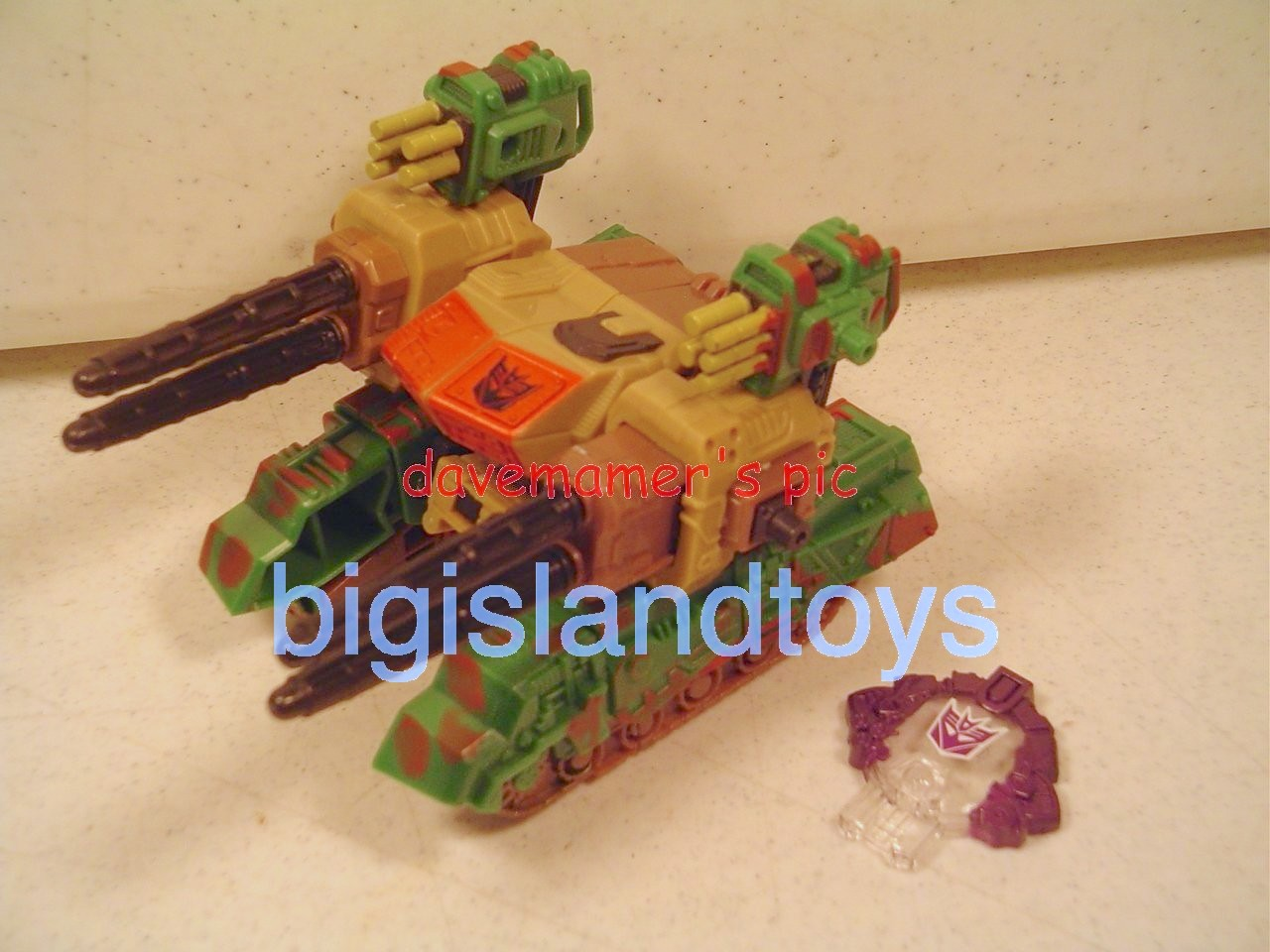 Transformers Cybertron Deluxe Class  Decepticon Demolishor