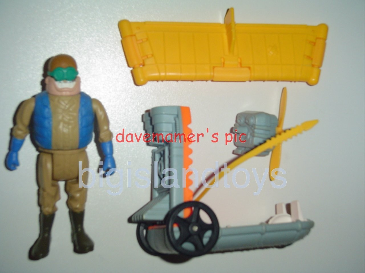 Real Ghostbusters Vehicles   AIR SICKNESS