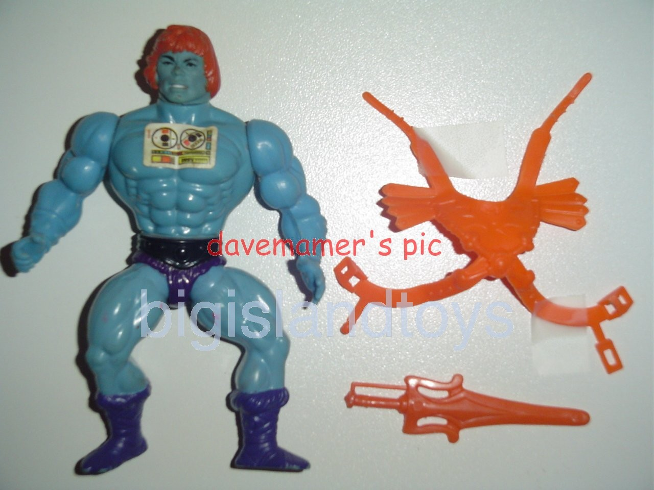 Masters of the Universe Series 2 1983   Faker Painted hair