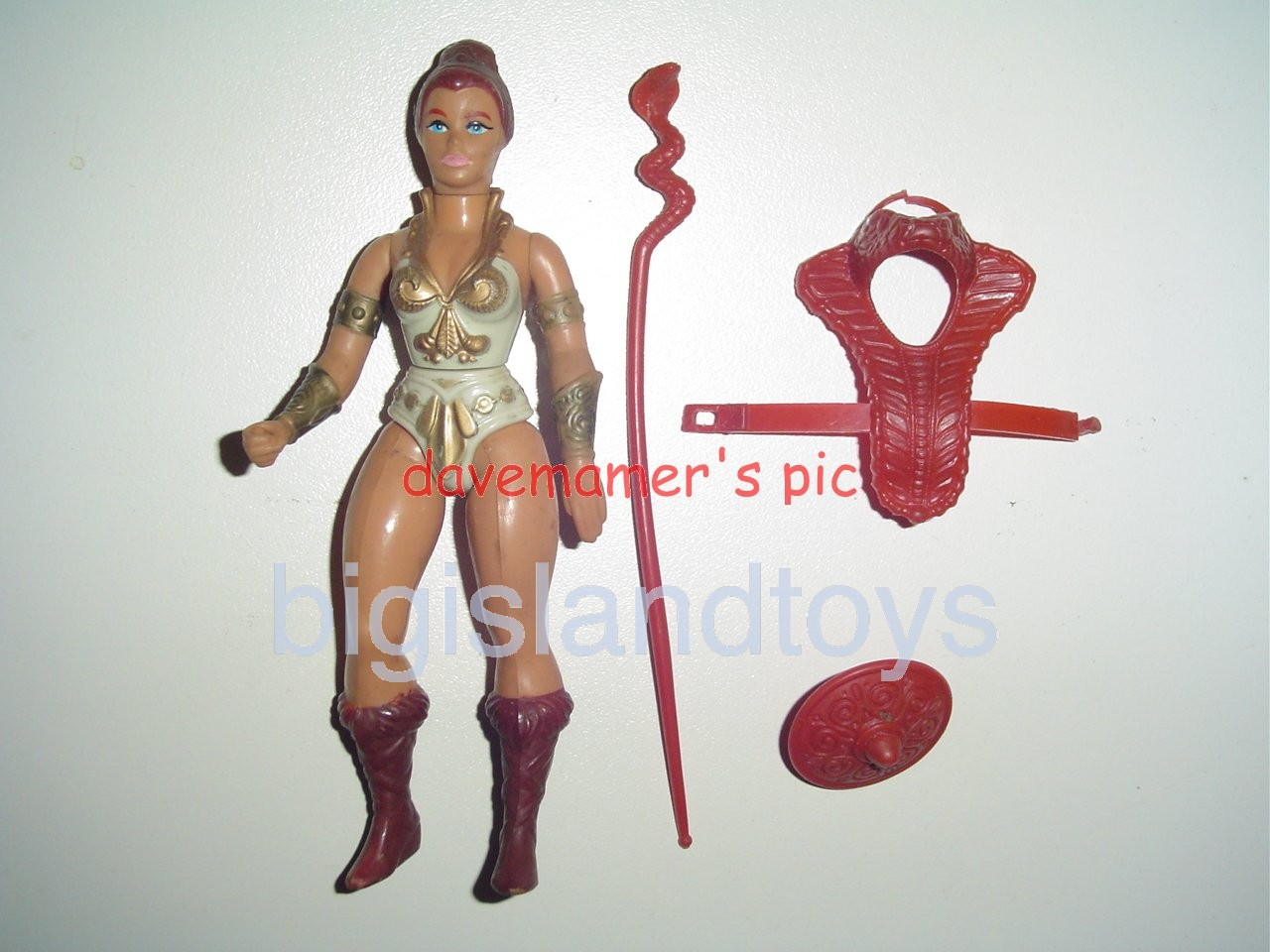 Masters of the Universe Series 1 1982   Teela Brown Boots