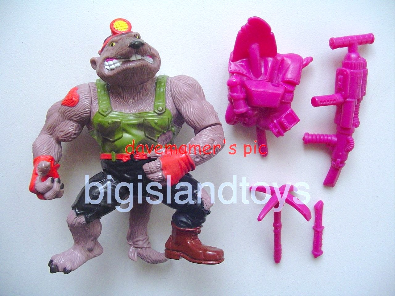 Teenage Mutant Ninja Turtles 1991 Figures   Dirtbag