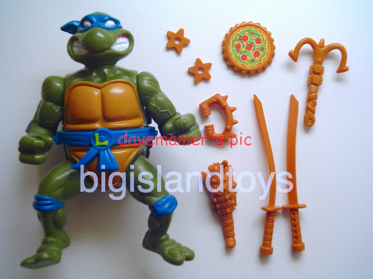 Teenage Mutant Ninja Turtles 1991 Figures       Storage Shell Leo