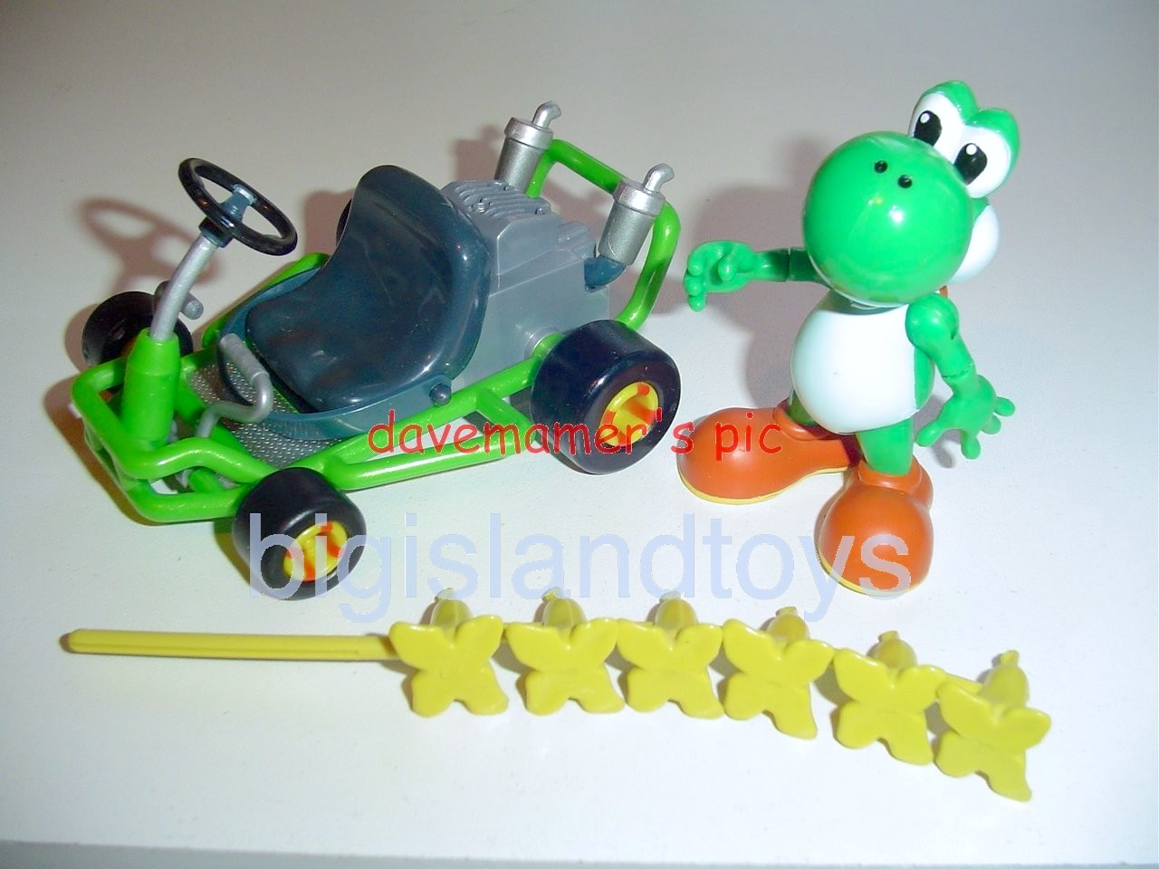 Video Game Superstars Mario Kart 64   Yoshi