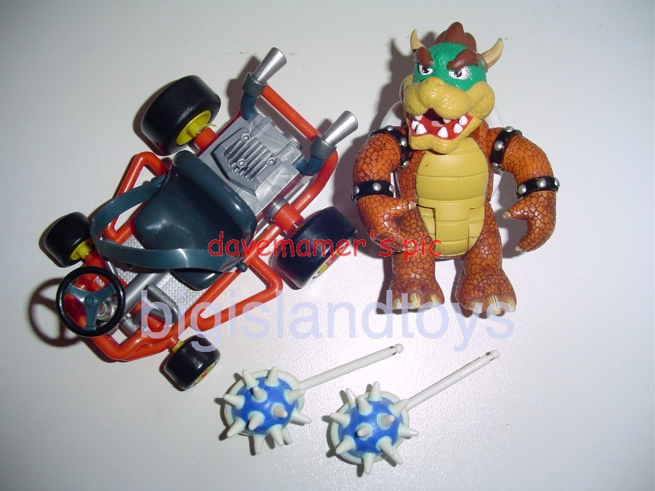 Video Game Superstars Mario Kart 64   Bowser