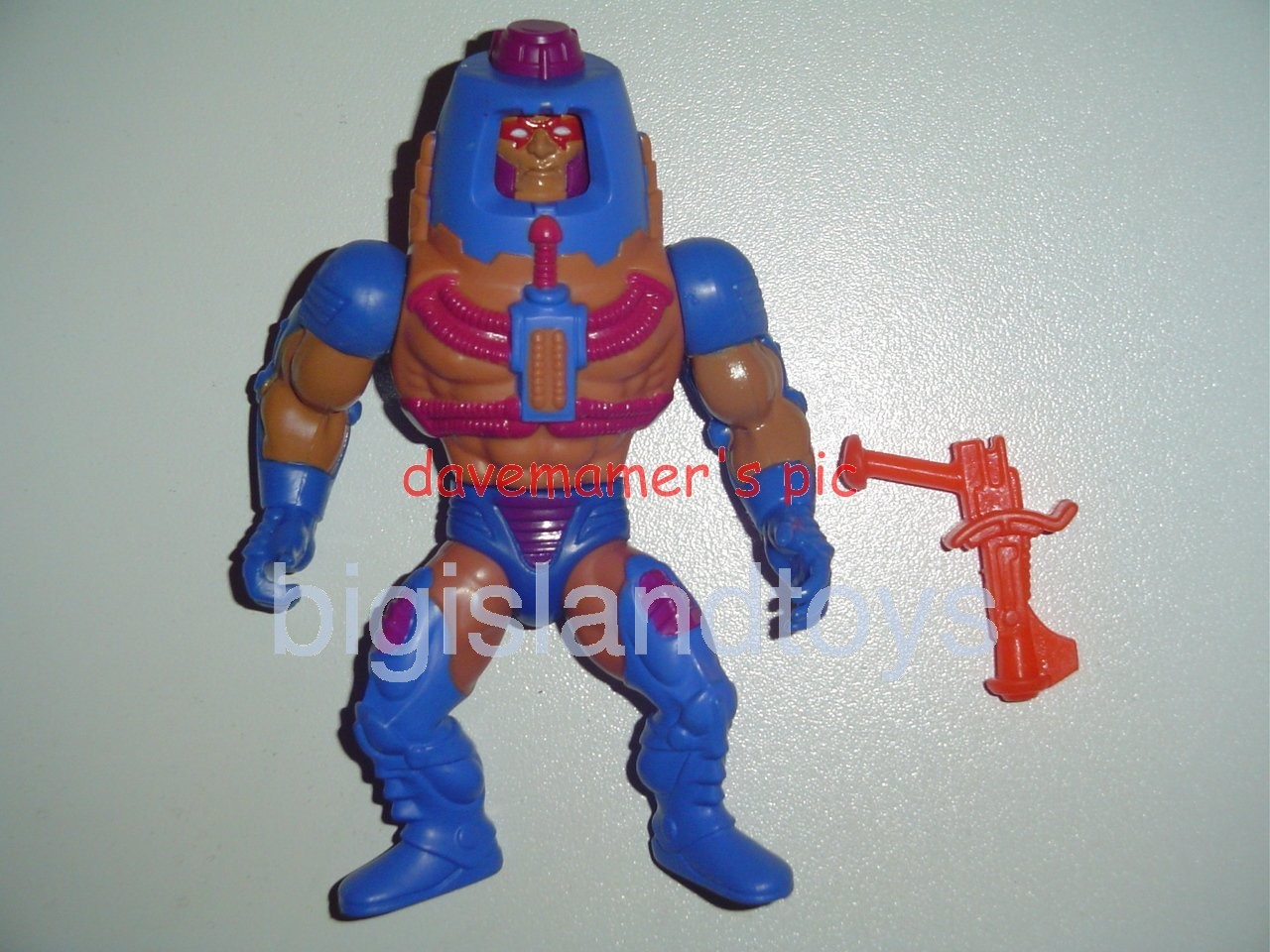 Masters of the Universe Series 2 1983   Man-E-Faces