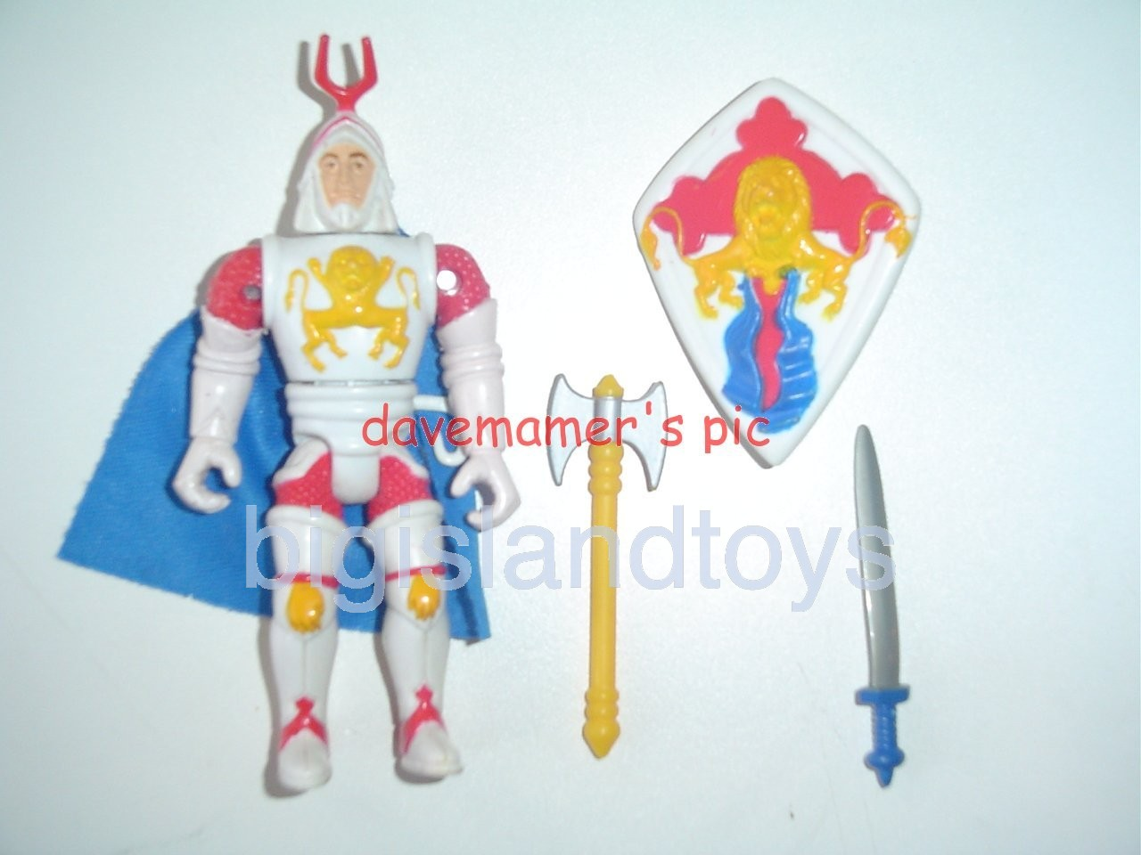 Advanced Dungeons & Dragons LJN Good Figures   Battle Matic Bowmarc Good Crusader