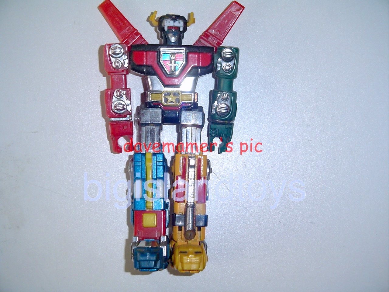 Voltron Matchbox Robots   Warrior Lion Force Voltron