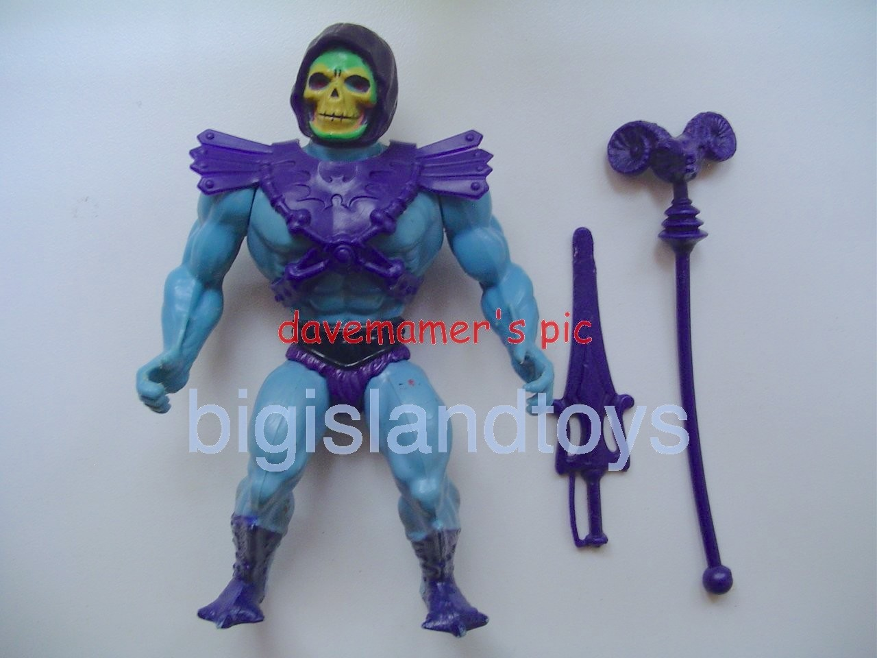 Masters of the Universe Series 1 1982   Skeletor Half Painted Boots