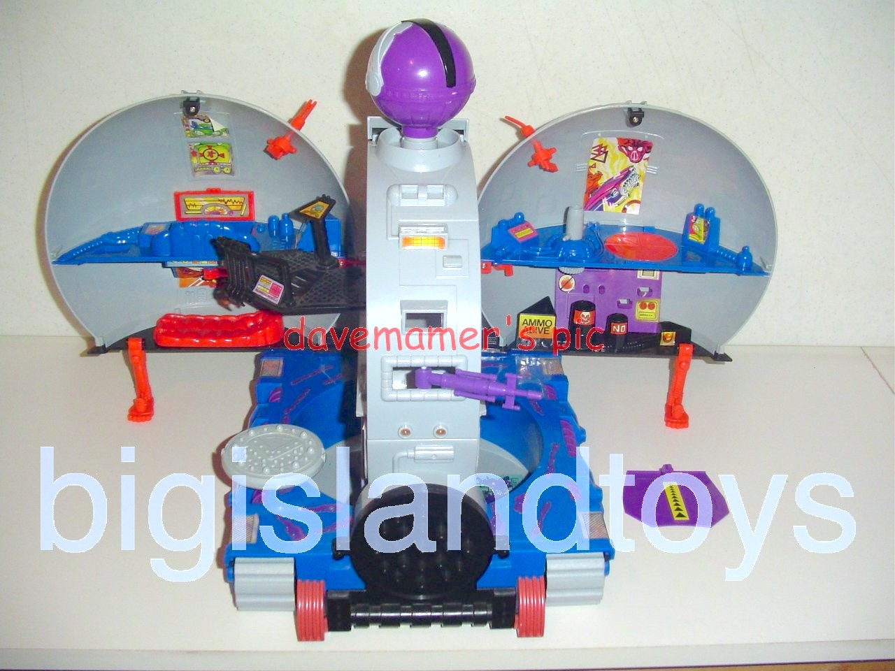 Teenage Mutant Ninja Turtles 1990 Vehicles & Playsets   Technodrome