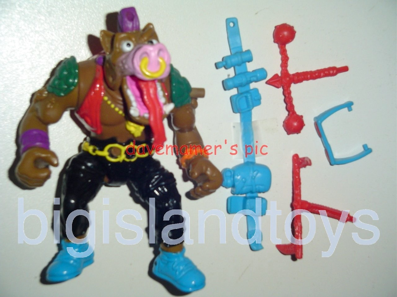 Teenage Mutant Ninja Turtles 1991 Figures   Headspinnin Bebop