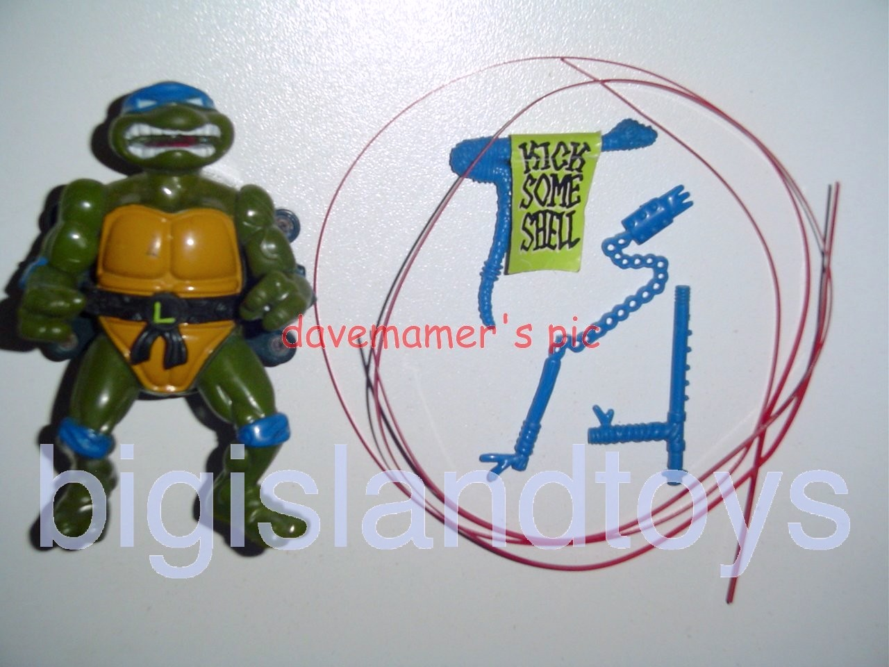 Teenage Mutant Ninja Turtles 1991 Figures   Talkin Leo