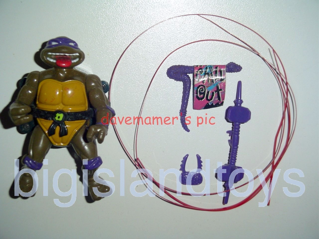 Teenage Mutant Ninja Turtles 1991 Figures   Talkin Don