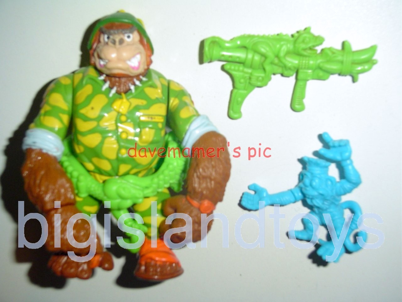 Teenage Mutant Ninja Turtles 1991 Figures   Sgt Bananas