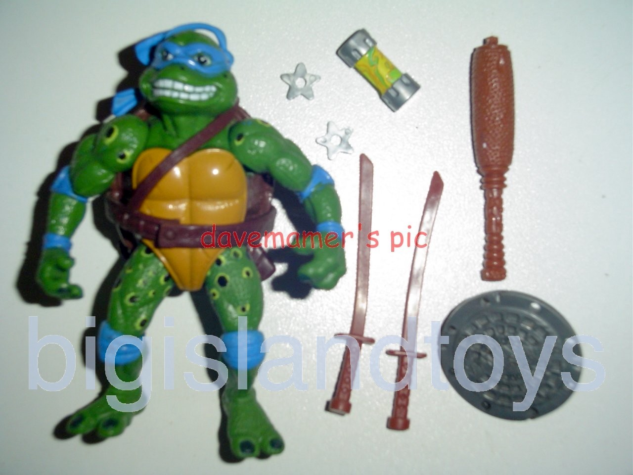 Teenage Mutant Ninja Turtles 1991 Figures       Movie Star Leo
