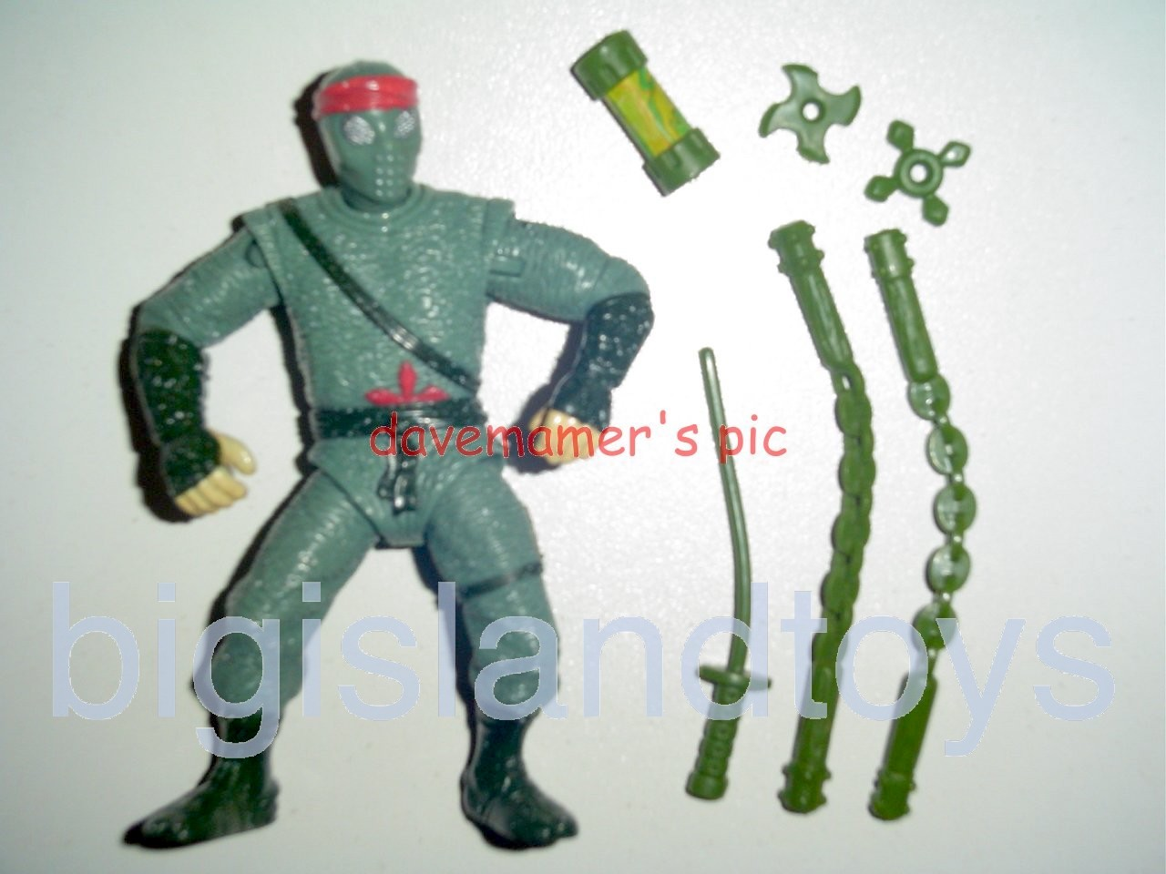 Teenage Mutant Ninja Turtles 1991 Figures       Movie Star Foot Soldier