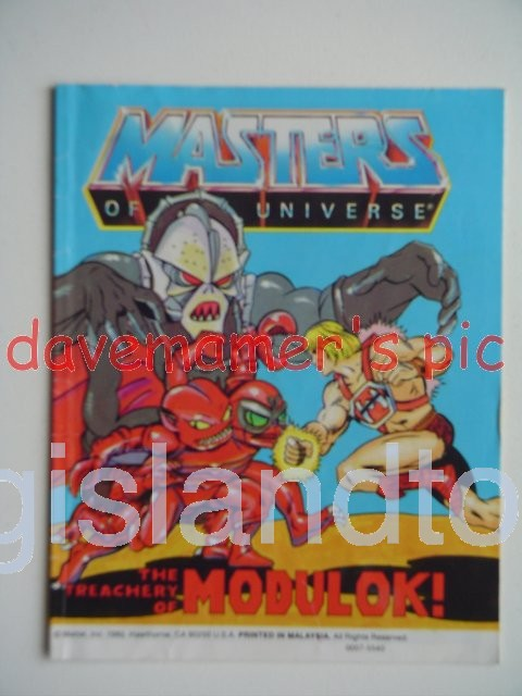 Masters of the Universe Mini Comics   The Treachery of Modulok!