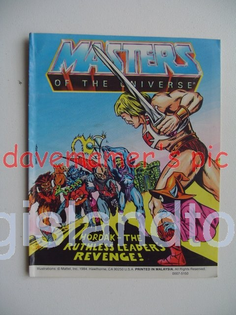 Masters of the Universe Mini Comics   Hordak The Ruthless Leader's Revenge