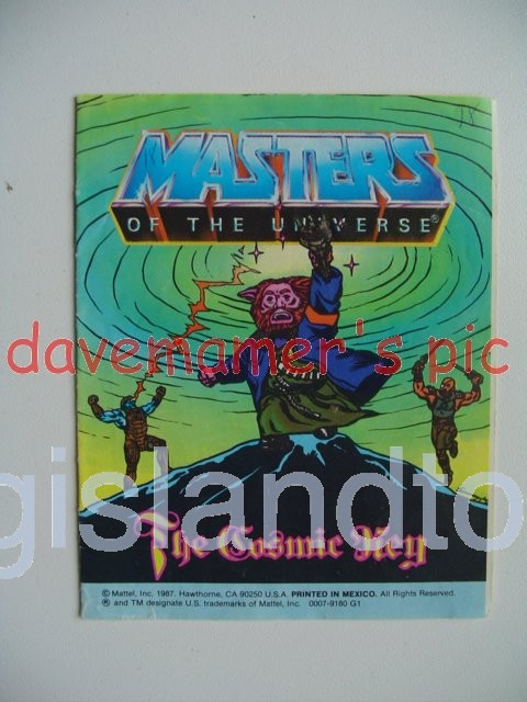 Masters of the Universe Mini Comics   The Cosmic Key