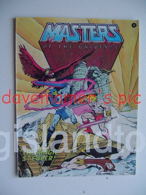 Masters of the Universe Mini Comics   The Magic Stealer!