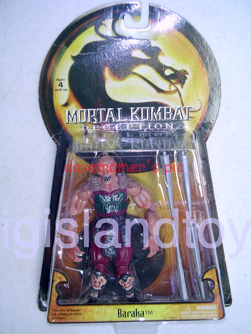 Mortal Kombat Deception   Baraka