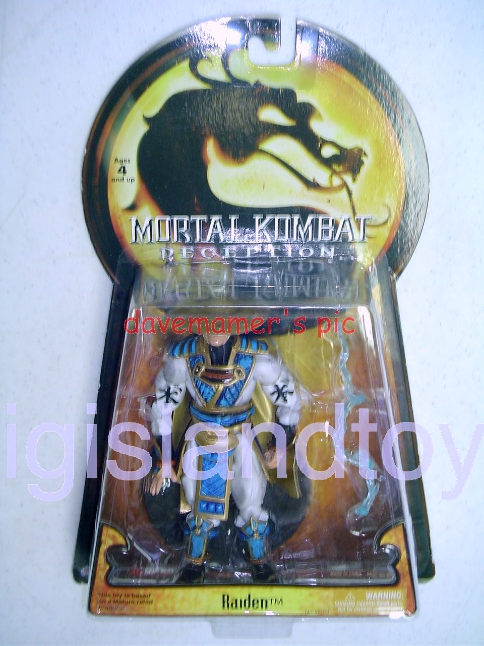 Mortal Kombat Deception   RaydenBlack Eyes