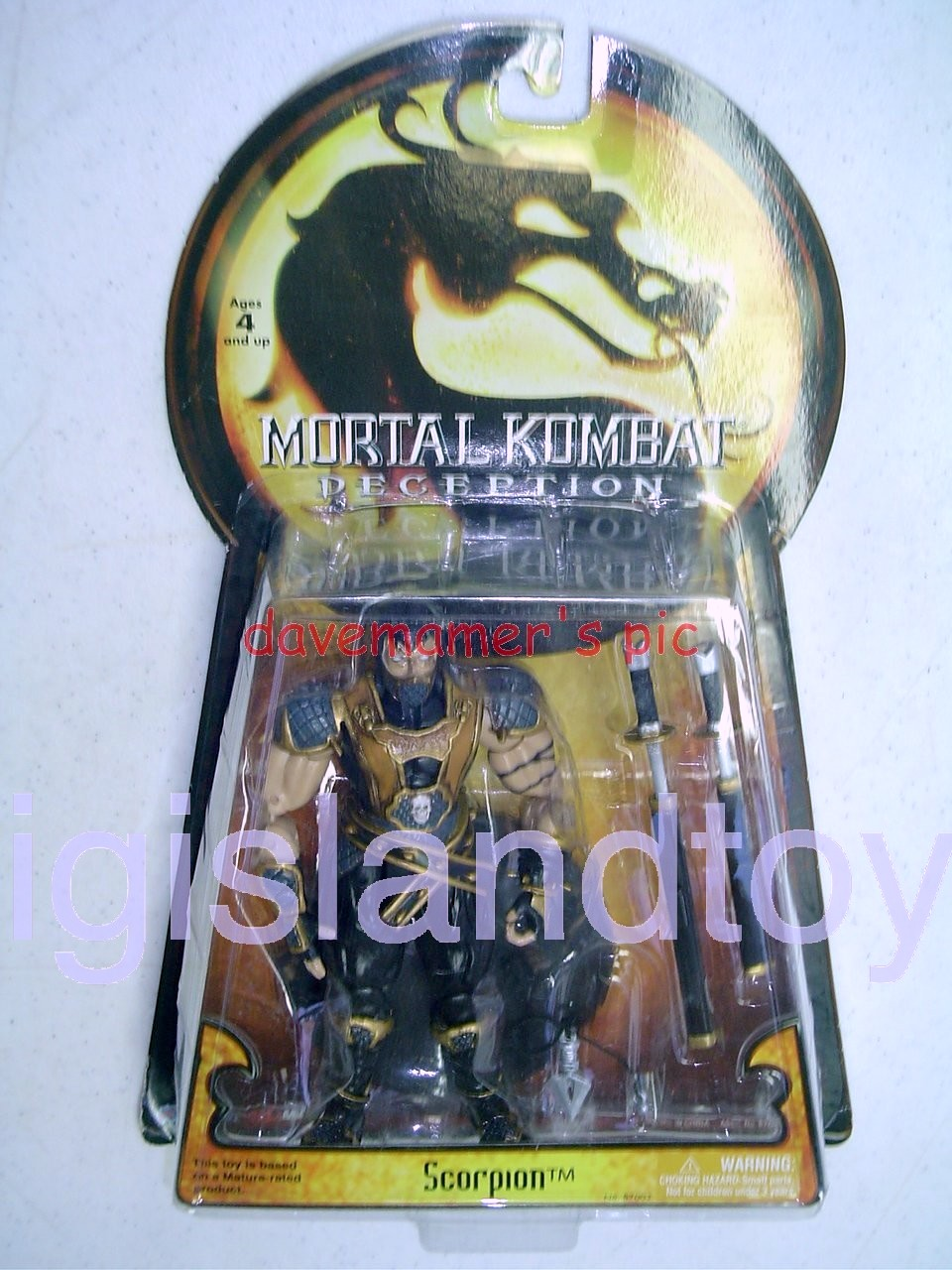 Mortal Kombat Deception   Scorpion