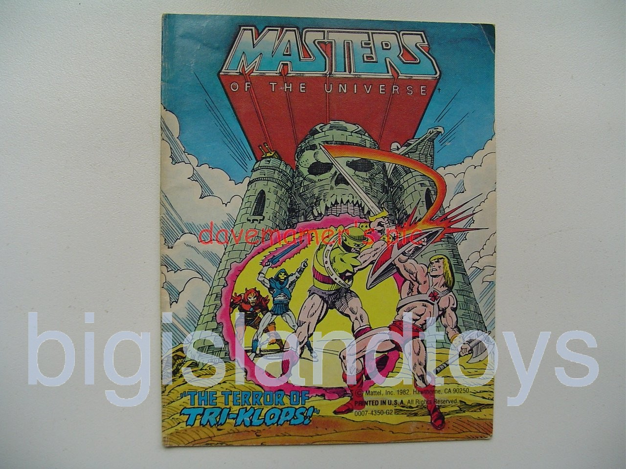 Masters of the Universe Mini Comics   The Terror of Tri-Klops!