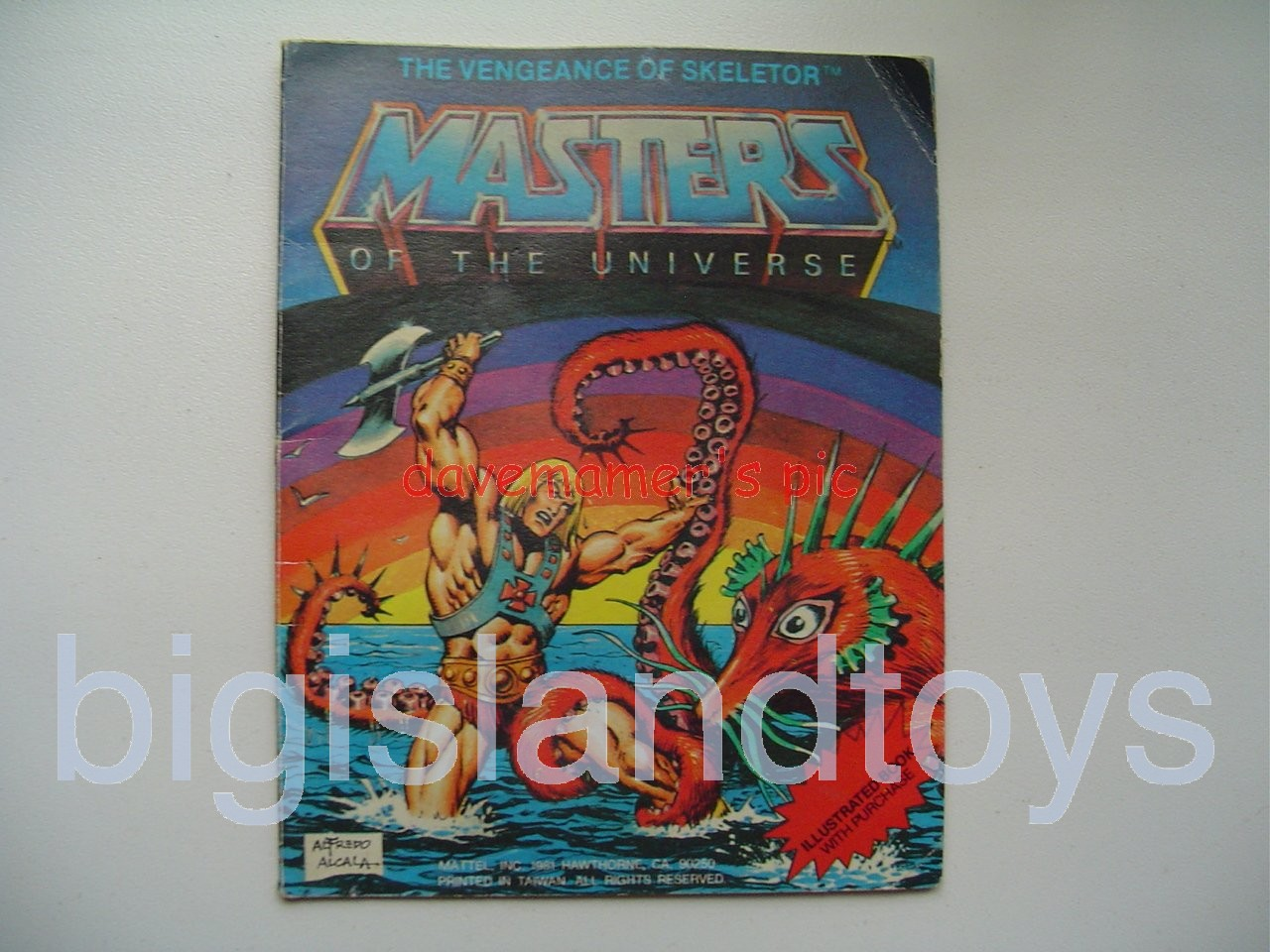 Masters of the Universe Mini Comics   The Vengeance of Skeletor