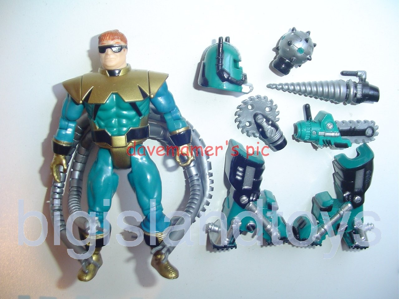Spider-Man Animated Series Techno Wars  ULTIMATE OCTOPUS