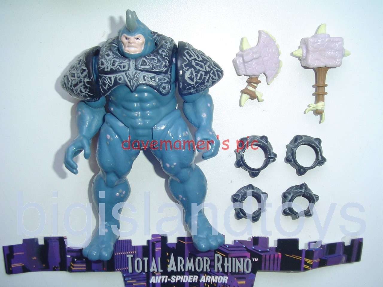 Spider-Man Animated Series Series 6  Total Armor Rhino