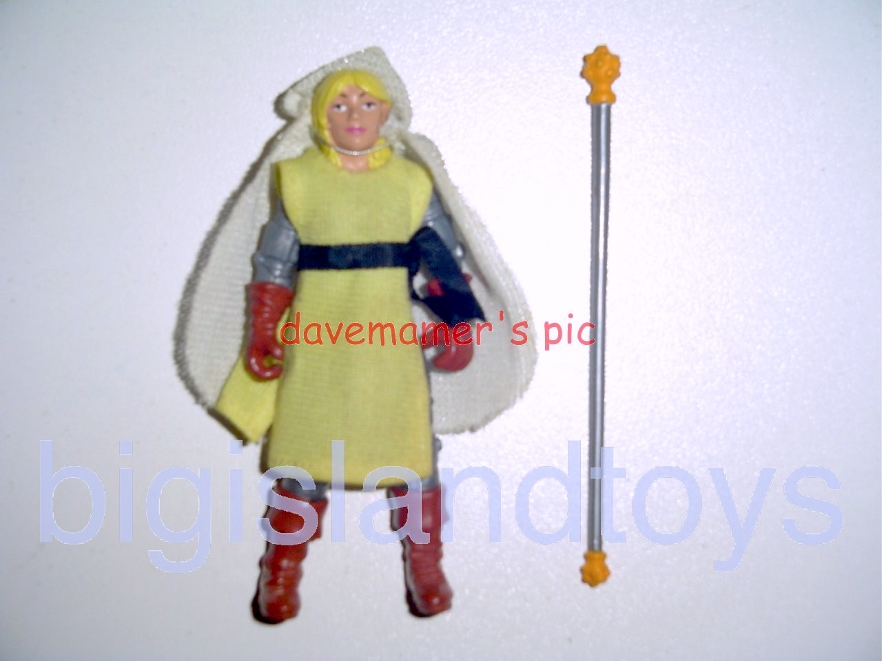 Advanced Dungeons & Dragons LJN Good Figures   Mercion Good Cleric Female