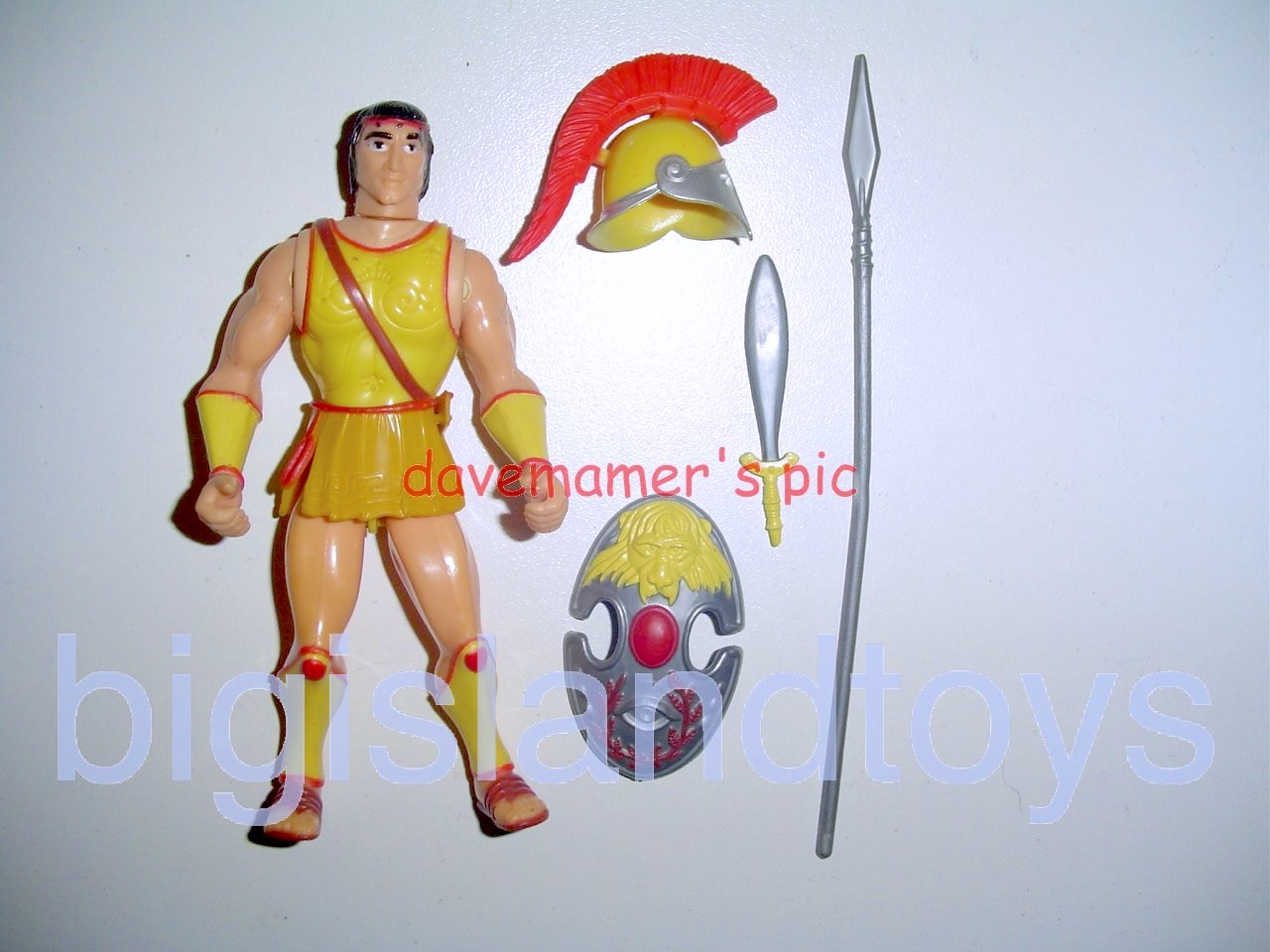 Advanced Dungeons & Dragons LJN Good Figures   Young Male Titan