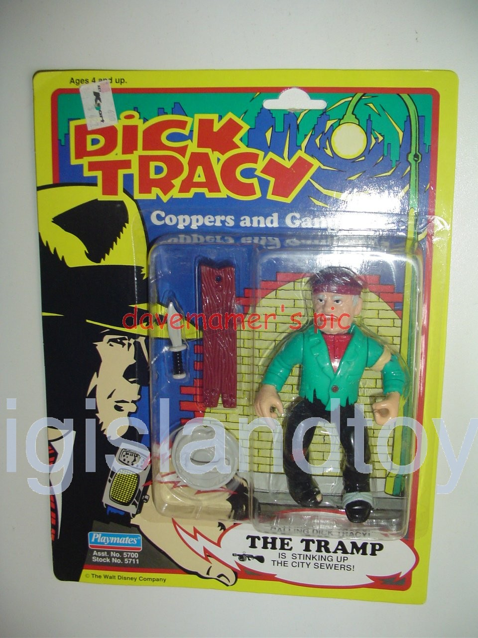 Dick Tracy Coppers and Gangsters   THE TRAMP