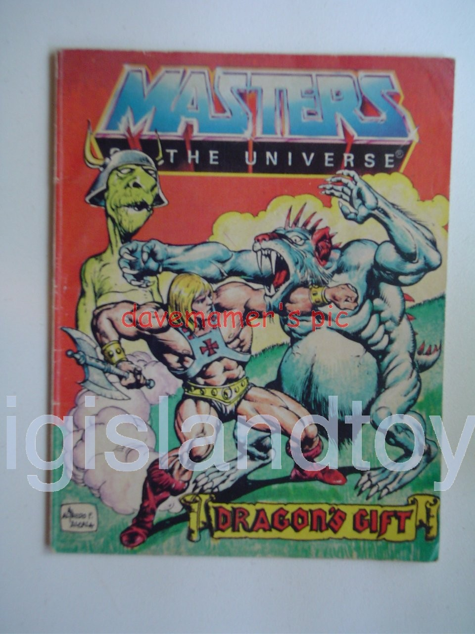 Masters of the Universe Mini Comics   Dragon's Gift