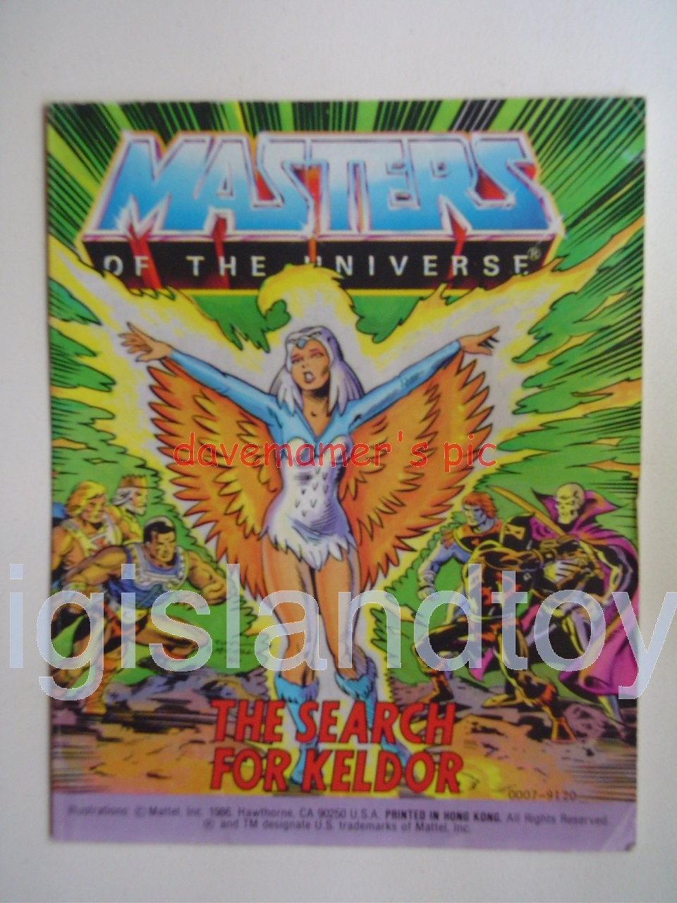 Masters of the Universe Mini Comics   The Search for Keldor