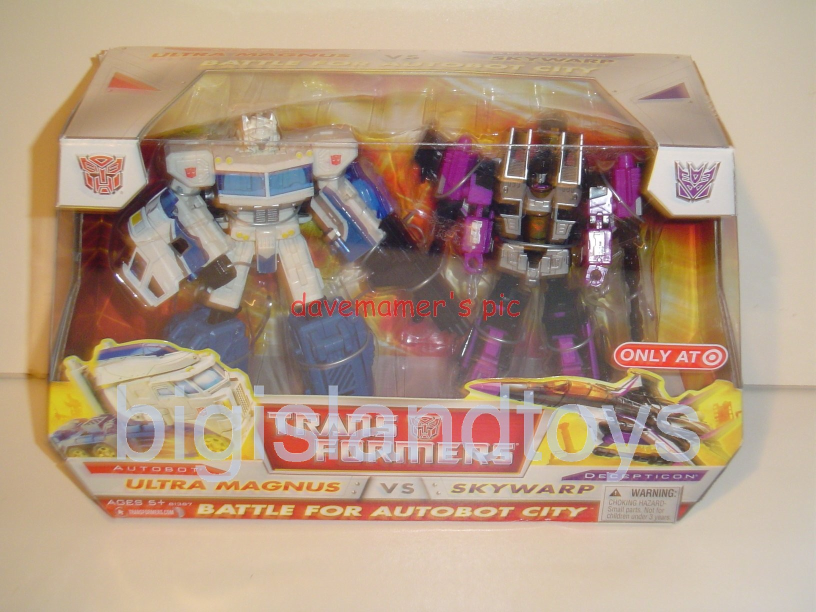 Transformers RID Classics   Ultra Magnus vs. Skywarp two-packTarget exclusive