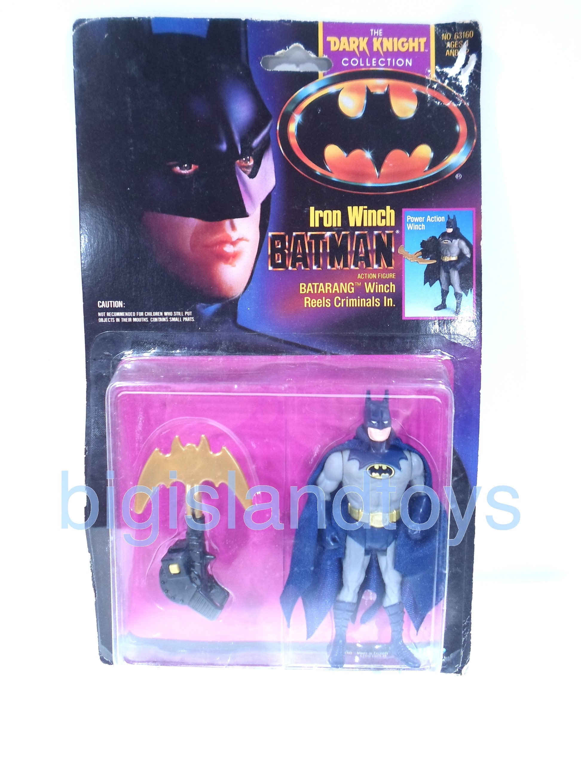 Batman  The Dark Knight Collection   Iron Winch Batman