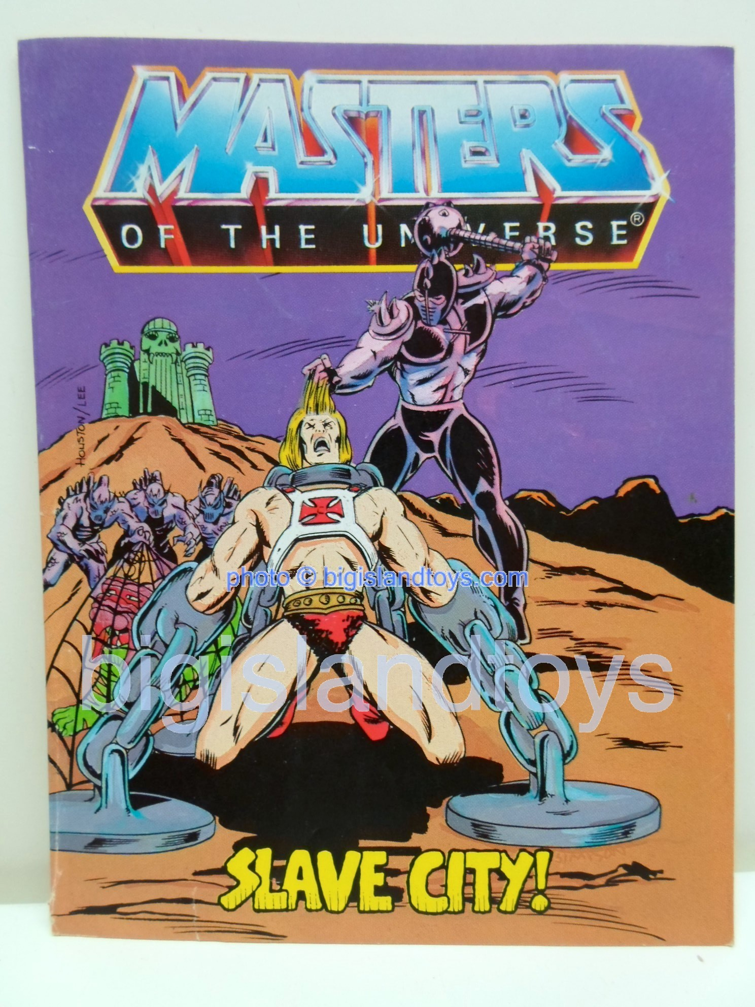 Masters of the Universe Mini Comics   Slave City!