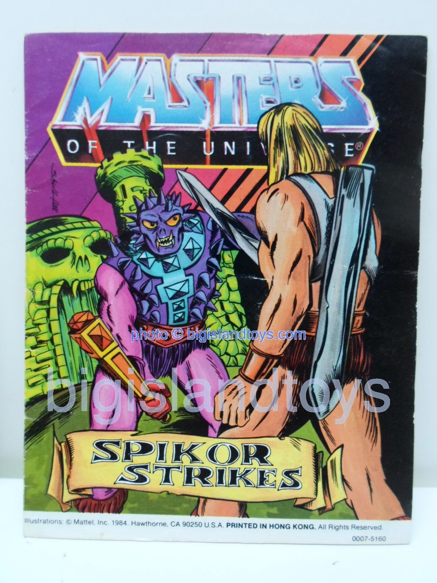 Masters of the Universe Mini Comics   Spikor Strikes